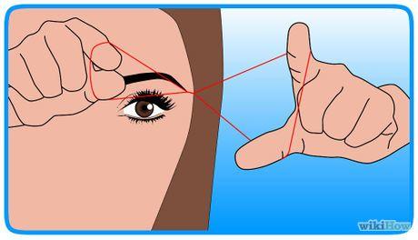 Fadentechnik selbst erlernen  für Augenbraue