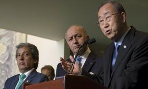UN climate talks moving at snail's pace, says Ban Ki-moon