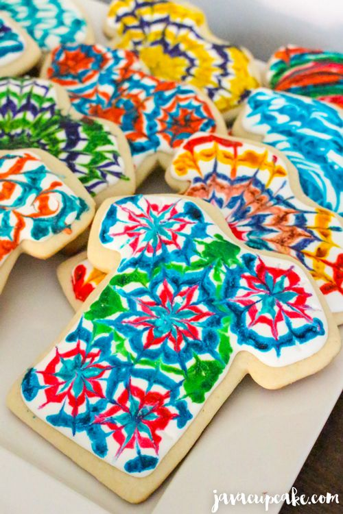 Tie Dye Tuesday Tie Dye Cookies Recipe Tuesday