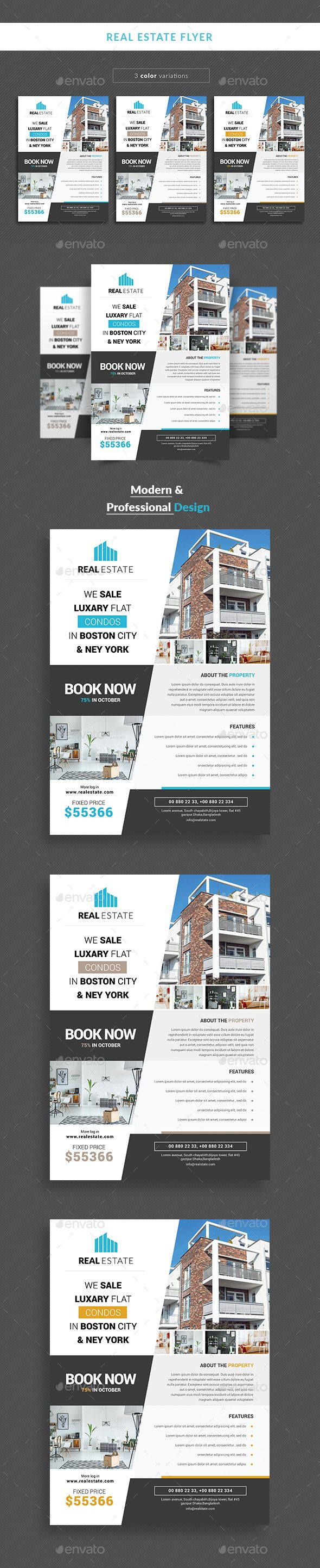 #Real estate flyer - Corporate #Flyers