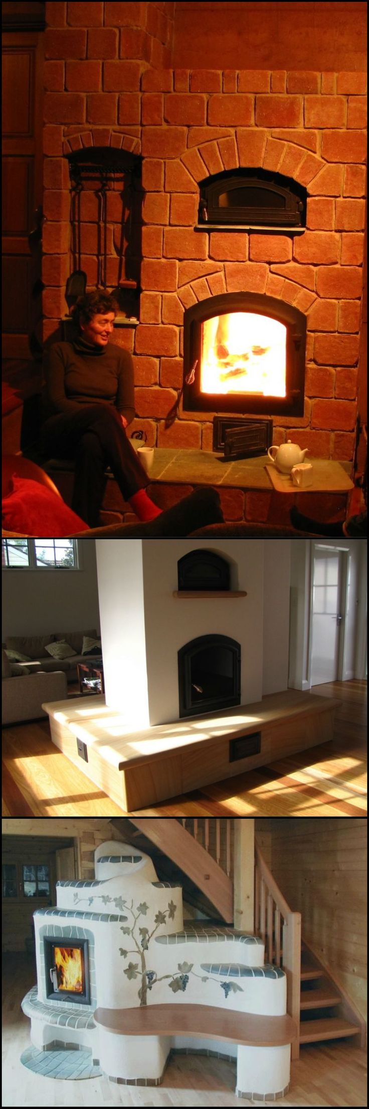 57 best images about masonry heaters on pinterest stove for New construction wood burning fireplace