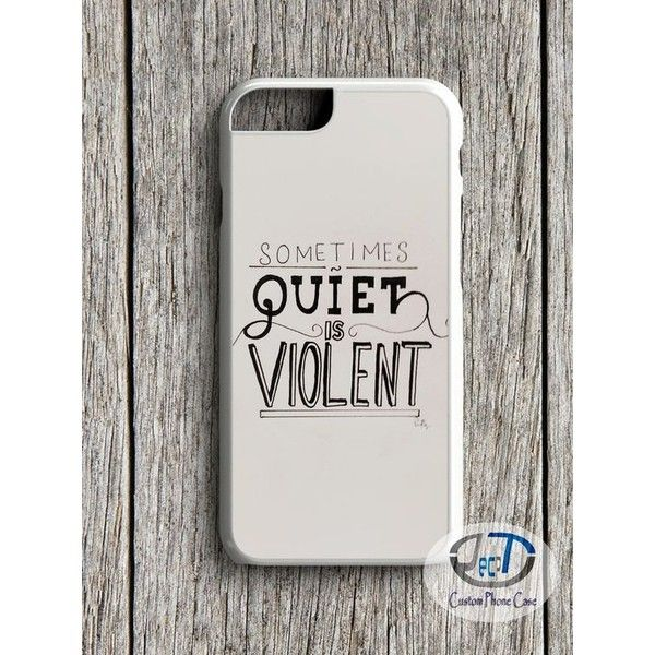 Twenty One Pilots Quiet Is Violent For iPhone 4 5/5s 5c 6/6s 6+/6+s... ❤ liked on Polyvore featuring accessories, tech accessories, samsung, genuine leather ipad case, ipad cases, ipad sleeve case and leather ipad case