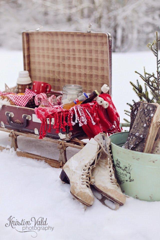 Kristín Vald - Winter picnic