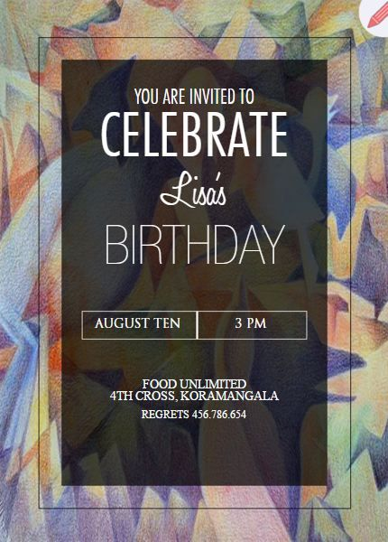 birthday invitation templates online