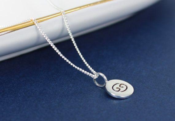 Cancer du collier - argent Sterling 925 - petit Horoscope zodiaque charme bijoux