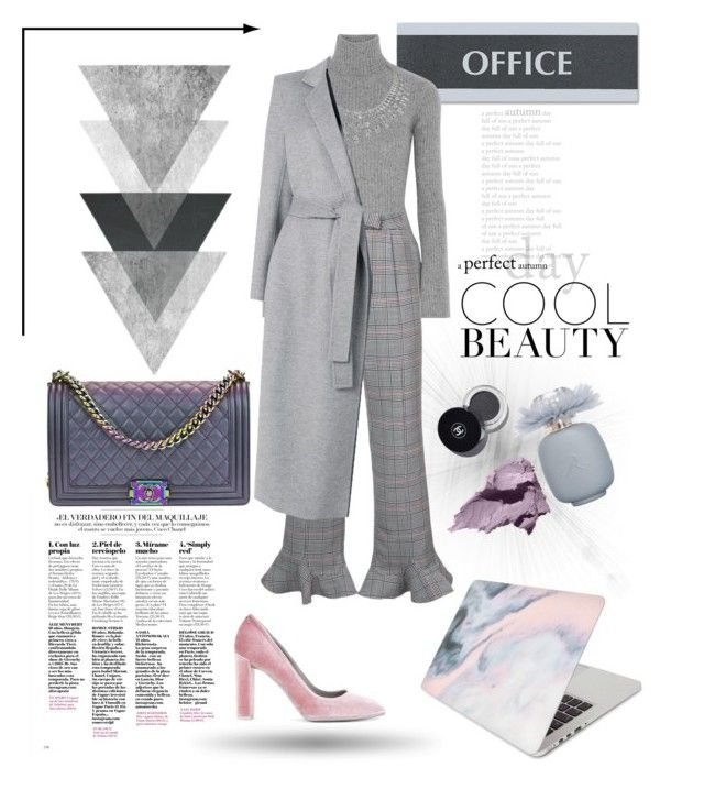 """Office look"" by nancykou1 on Polyvore featuring U.S. Stamp & Sign, Autumn Cashmere, Rosie Assoulin, aeydē, Joseph, Chanel, Bobbi Brown Cosmetics and Recover"