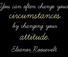 Eleanor Roosevelt attitude words