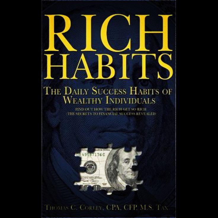 """En esta oportunidad sintetizo las recomendaciones de Tom Corley, en su libro titulado """"Hábitos ricos: Los hábitos diarios de éxito de los individuos ricos"""" En su libro, Corley resalta los hábitos que diferencian a la gente exitosa de la que no lo es. Estos son los 21 hábitos para ser exitoso y millonario: La nota completa en está dirección:  https://goo.gl/UjChc7"""