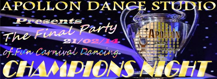 Apollon dance studio...: CHAMPIONS NIGHT!!!