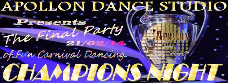 Apollon dance studio...: CHAMPIONS NIGHT!!!