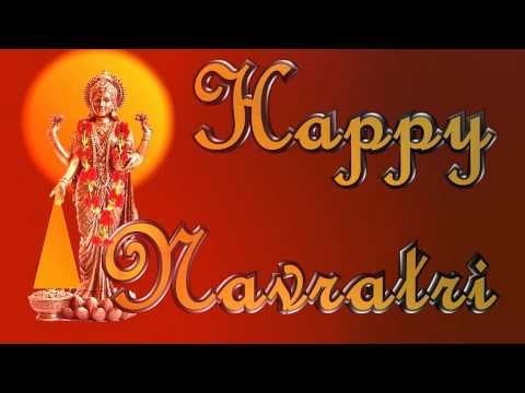 Happy Navratri 2016 Wishes,Images,Greetings,Ecard,Animation,Messages,Whatsapp Video,SMS - YouTube