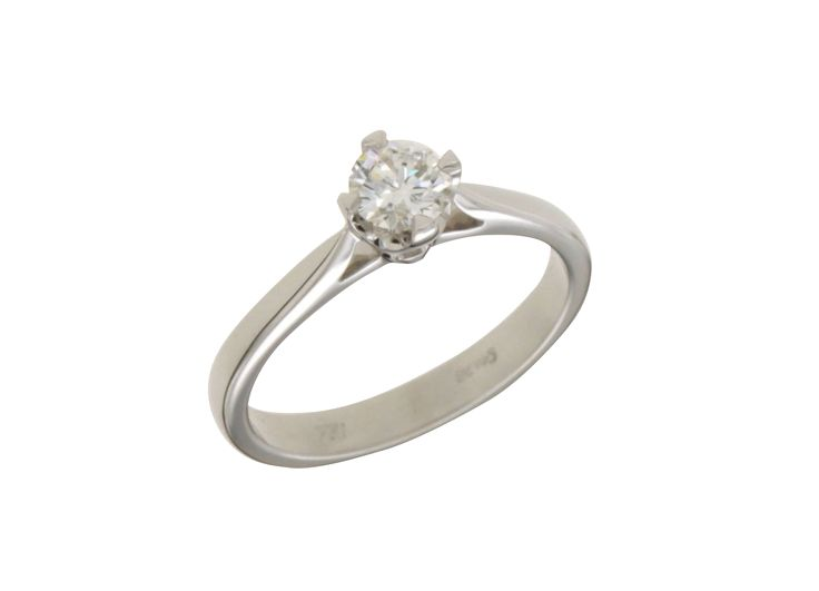 Δαχτυλίδι μονόπετρο με διαμάντι στο ρόμβο 33284