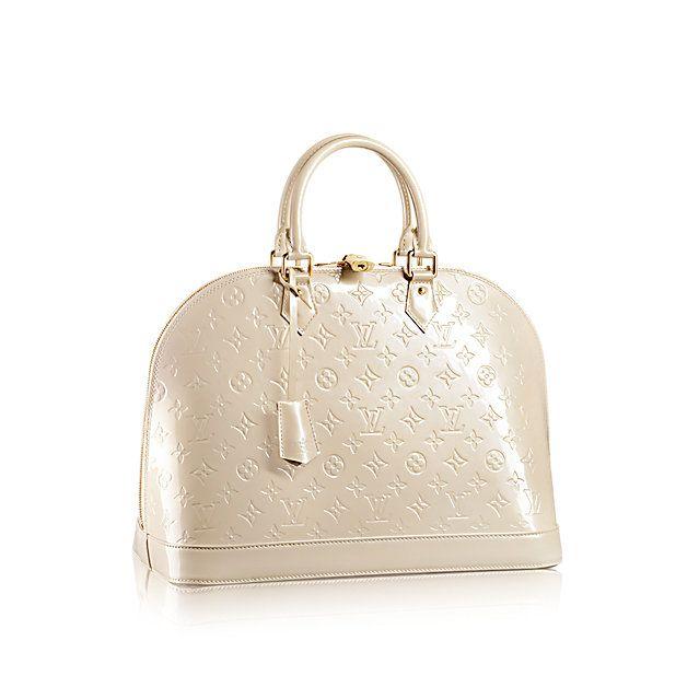 Alma GM - Monogram Vernis Leather - Handbags   LOUIS VUITTON