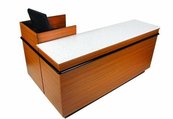 L Shaped Checkout Counter 44 W X 72 L X 34 H Modern Store Equipment Www Modernstoreequipment Com Adjustable Shelving L Shape Modern Store