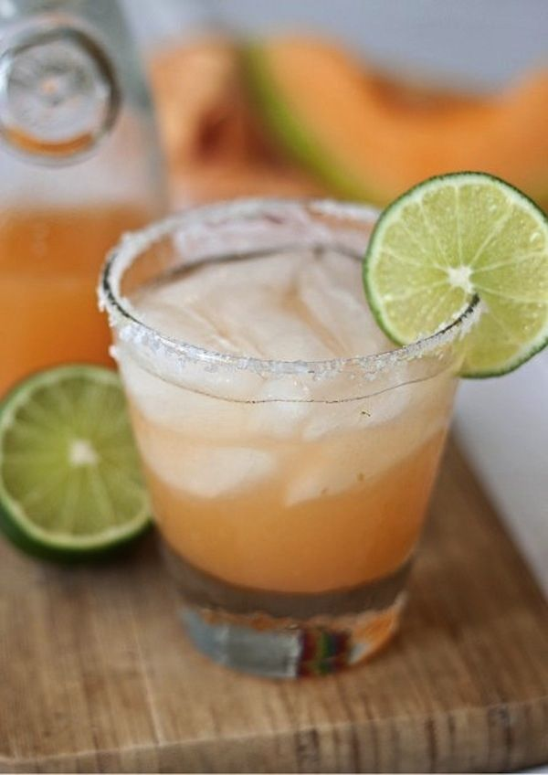 Cantaloupe Margarita  | 29 Crazy Margaritas You Need To Try