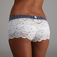Lace boxer shorts.perfect for under short shorts or dresses ! No lines!