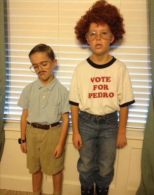 Pedro and Napoleon halloween costumes for kids