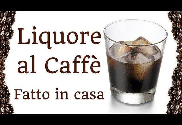 LIQUORE AL CAFFE' FATTO IN CASA DA BENEDETTA – Homemade coffee liqueur