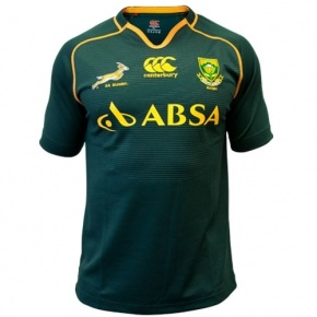 South African official Springbok rugby jersey