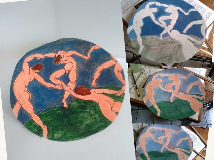 Omaggio a Matisse 4, A. Ricci, works in progress