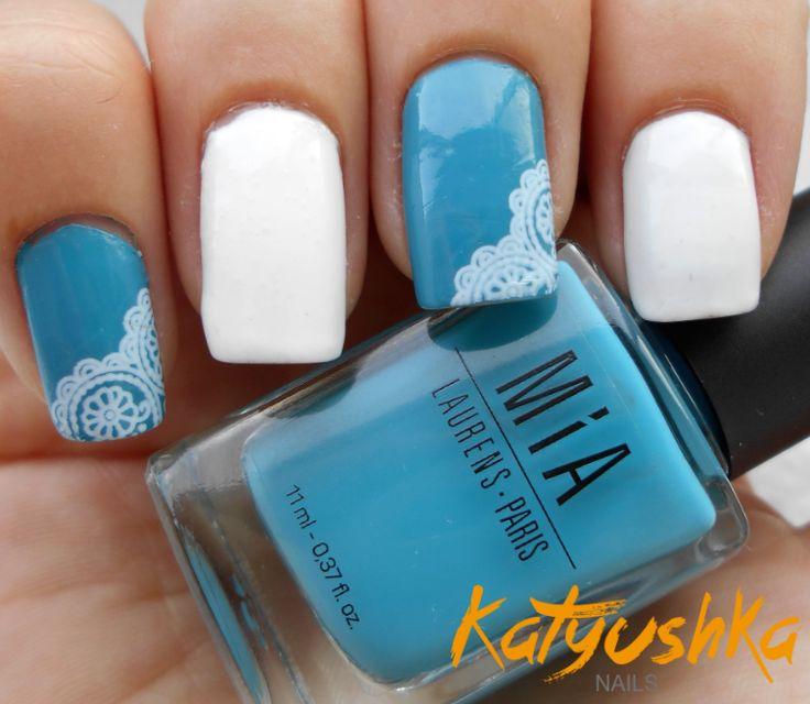 Mejores 9 imágenes de Uñas elegantes en Pinterest | Diseños de uñas ...