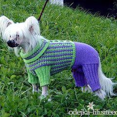 """6.13. Мастер-класс вязания комбенизона. - вязание для собак и кошек , свитера, кофты, попоны для собак, комбинезоны, шапочки, обувь для собак, скачать бесплатно книгу Корин Ниснер """"Вяжем для четвероногих модников"""", needleworkdogss Jimdo-Page!"""