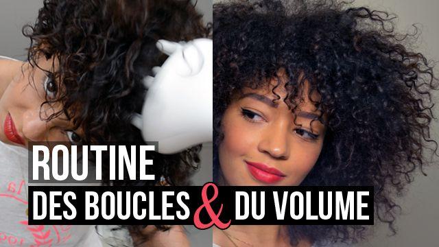 thumbnail routine cheveux