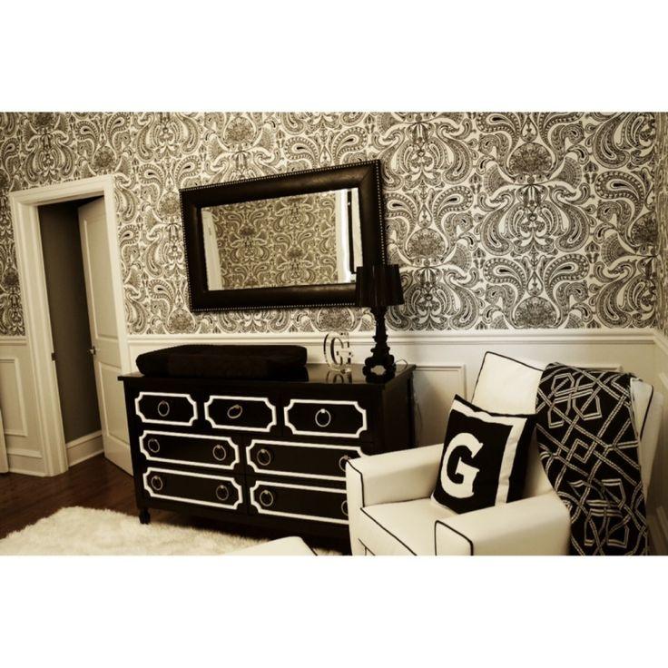 Project Nursery - Black and White Modern Nursery Furniture
