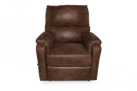 LANE-41698M/4180-21 - Lane Harrison Mocha Massage Recliner | Mathis Brothers Furniture