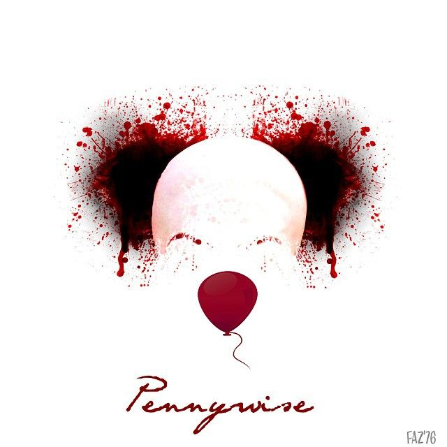 My fan art - Stephen King / IT #stephenking #it #pennywise #clown #evil #novel…