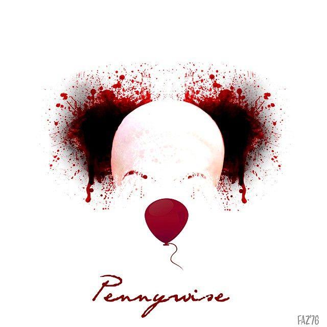 My fan art - Stephen King / IT #stephenking #it #pennywise #clown #evil #novel…