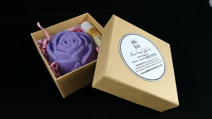 Rose soap sets are the perfect way to spoil that special someone; makes a unique mothers day or valentines gift idea. Simply select your rose soap fragrance and lip balm and we will box it up for you and have it ready to ship within 3 business days.  #giftideas #valentines #uniquegifts #handmadegifts #newworlddesigners #rosesoap #soap #lipbalms #boxedgiftsets