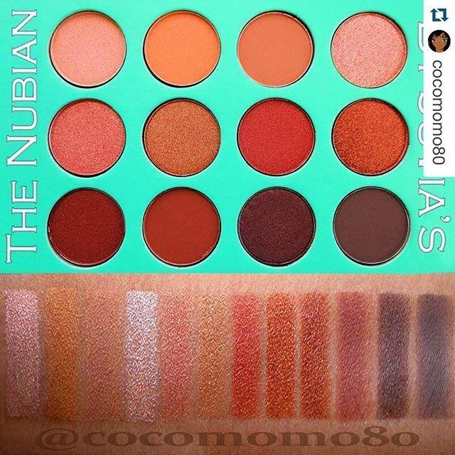 Makeup palette nubian