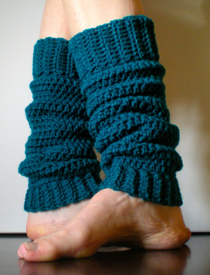 PATTERN:  Yoga Socks, Dance, Pilates, Ballet, Leg Warmers, easy crochet, pdf, ankle, slouchy, dancer, Permission to Sell. $4.99, via Etsy.