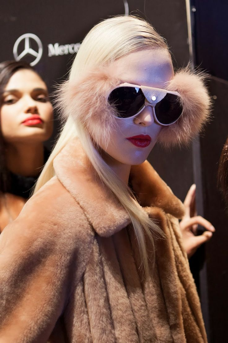 Backstage at Jesus Lorenzo´s show, by Tanya Lacey
