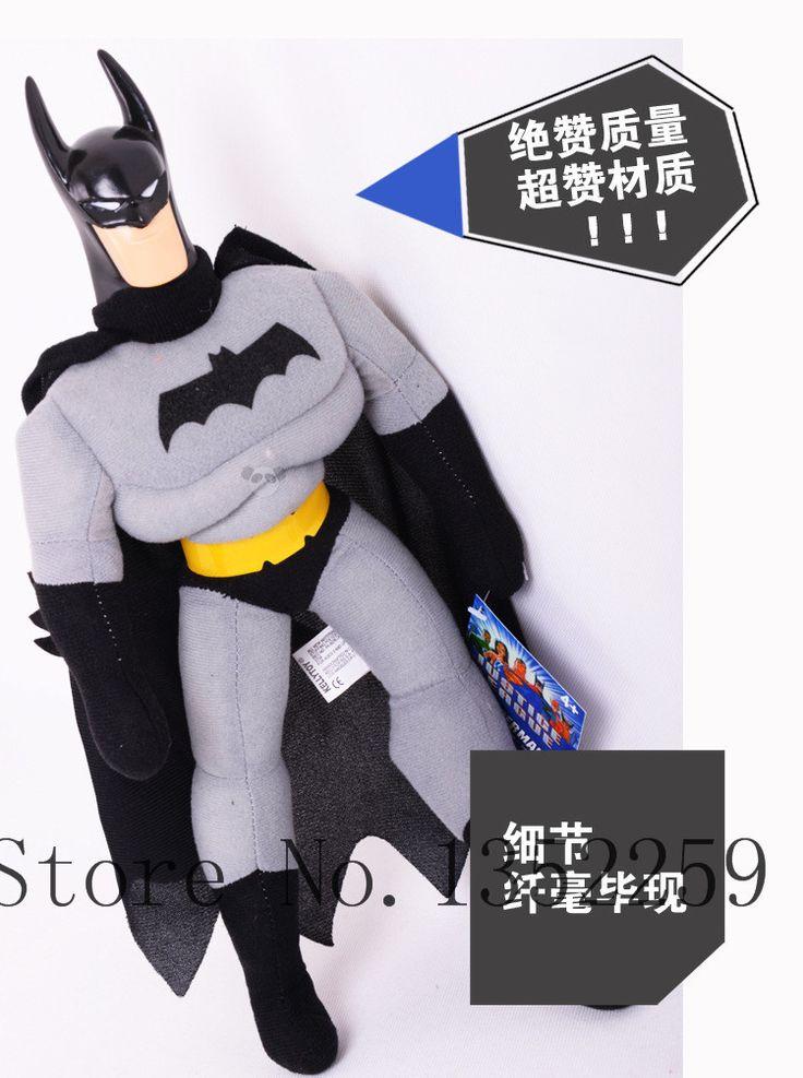 Плюшевые куклы бэтмен игрушки мстители плюшевые мультфильм куклы и игрушки 25 см