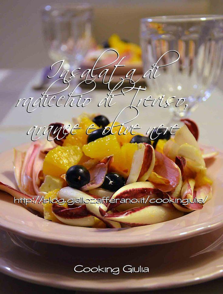 Insalata di Arance Radicchio di Treviso e Olive nere