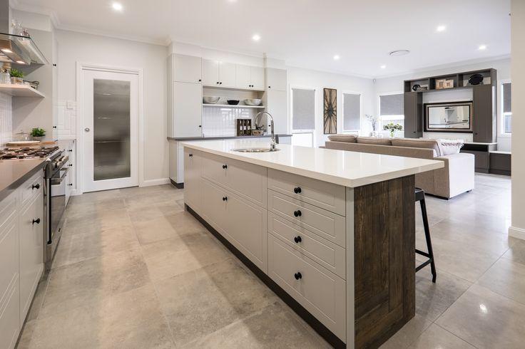 Spacious Kitchen I Open Plan Living I Timber I Tiles