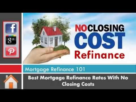Refinance Mortgage Bad Credit No Closing Costs