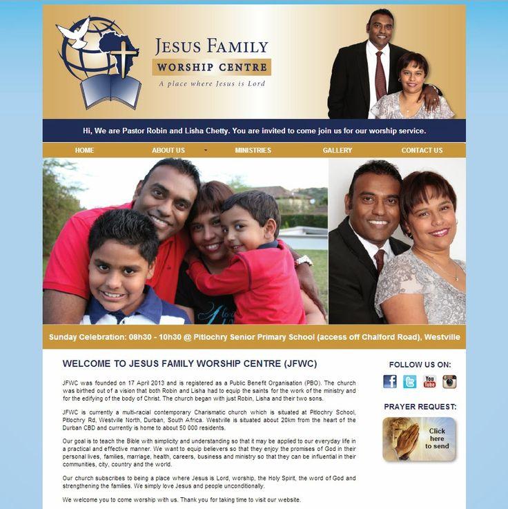 Little Blackbird Design Studio: #Website Design for Jesus Family Worship Centre