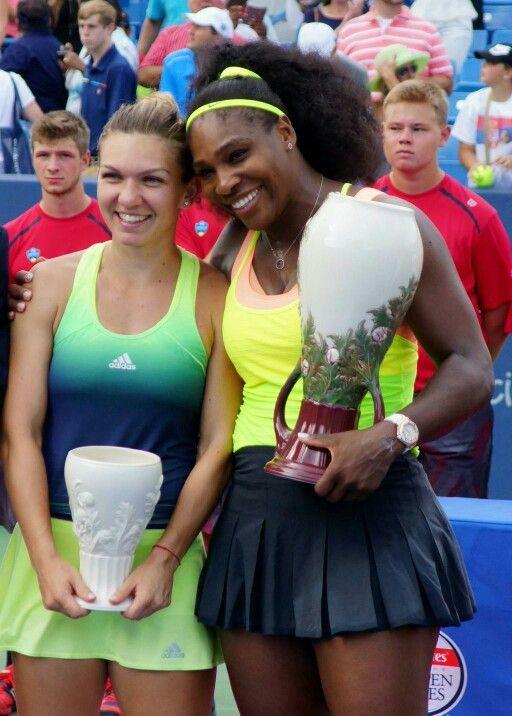 Simona Halep second place , Serena Williams champ 2015 cinninate open Ohio