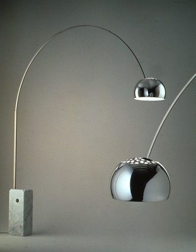 Arco Floor lamp by Achille and Pier Giacomo Castiglioni (1962) #DesignClassic