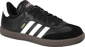 The @adidas Samba kids' soccer shoes are great for indoor action or casual wear. #GiftOfSport