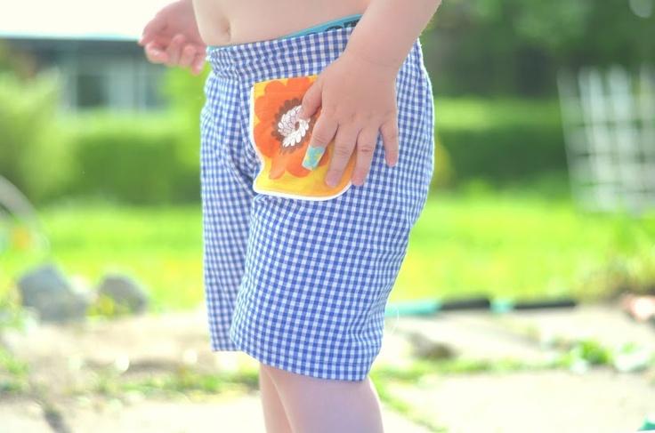Handmade Vibeke Shorts