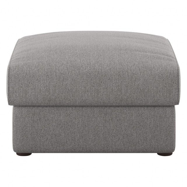 Joshua Grey Fabric Storage Footstool Storage Footstool Fabric Storage Grey Fabric