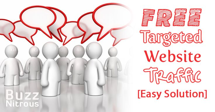 Free Targeted Website Traffic [Easy Solution]