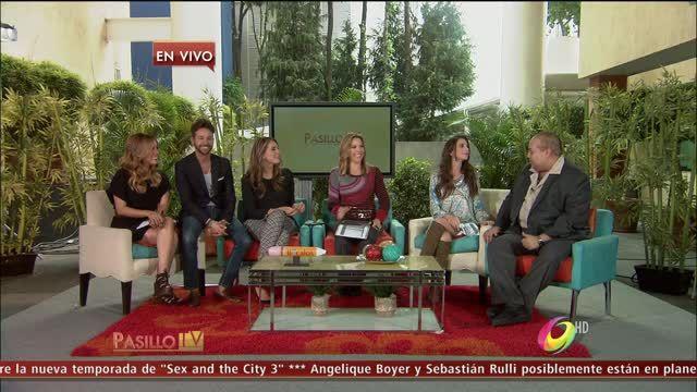 Sergio Carranza visitó a las conductoras de Pasillo TV para dar una exclusiva entrevista sobre su personaje como Pumba en el musical, El Rey León