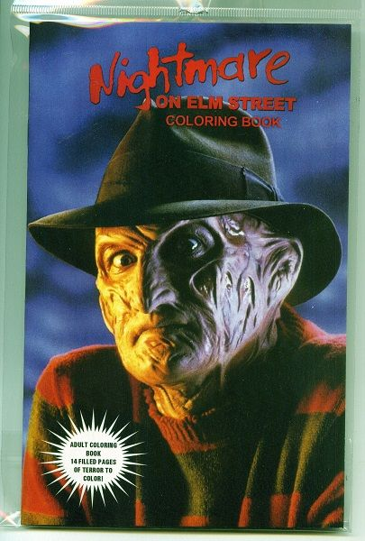 A Nightmare on Elm Street Coloring Book