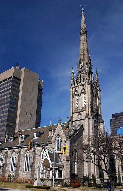 St. Paul's Presbyterian Church, Hamilton, Ontario, 1852, built by William Thomas.