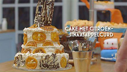 Heel Holland Bakt: Oranje cake